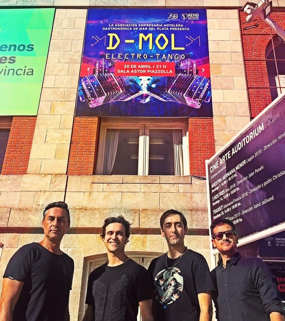 """El electro-tango """"demoledor"""" de D-Mol"""