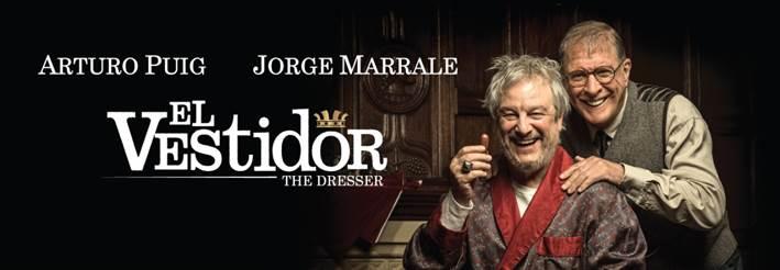 """Arturo Puig y Jorge Marrale llegan con """"El vestidor"""""""