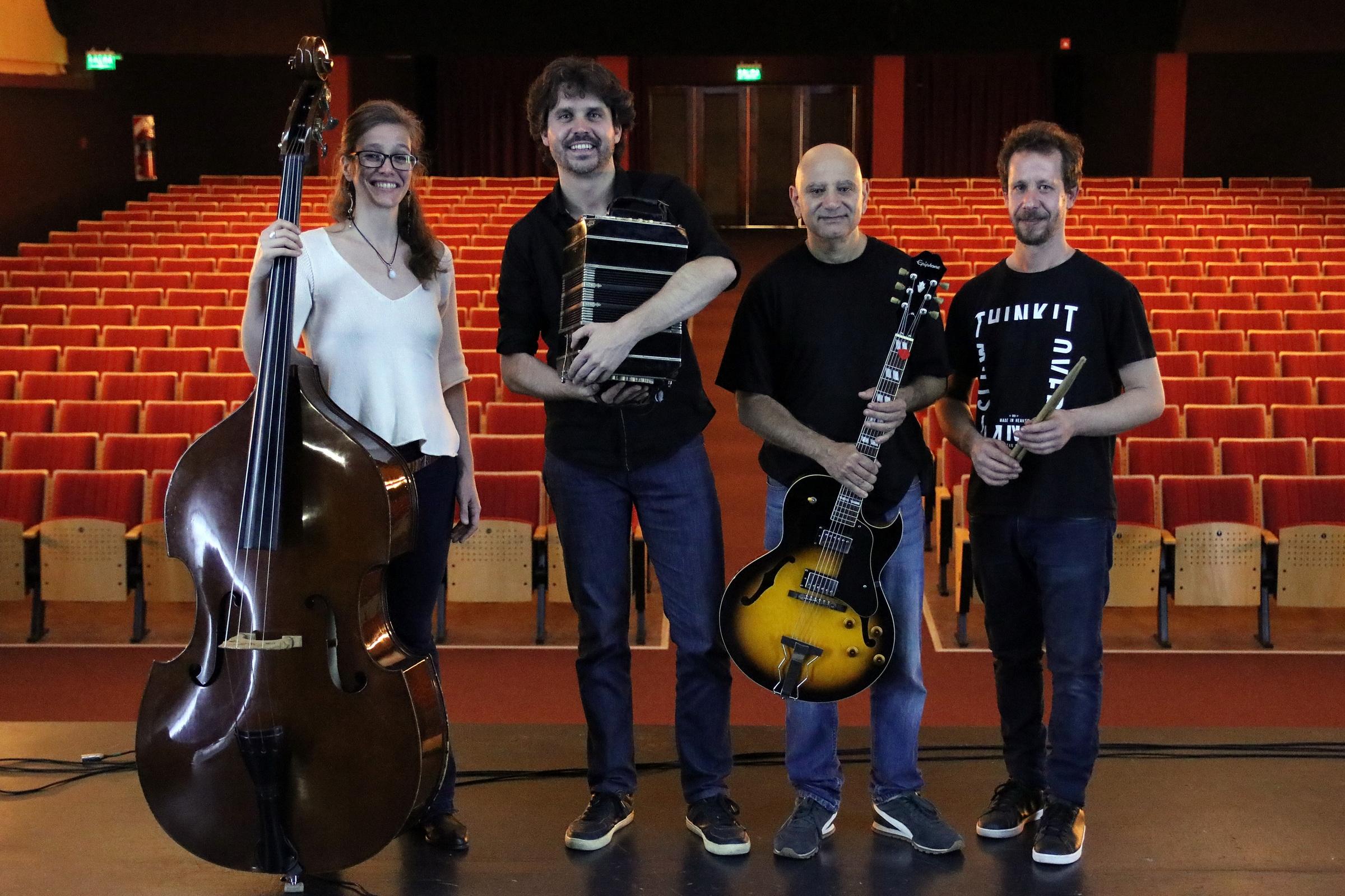 """El grupo 40 Dedos presenta """"La música de Astor Piazzolla"""""""