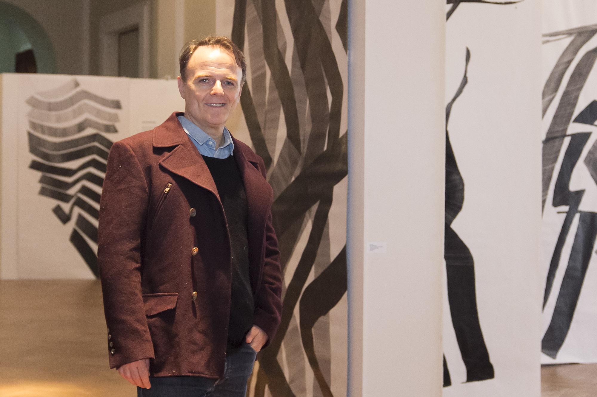 """Luis Machín: """"El arte es una de las actividades más salvadoras de la gente"""""""