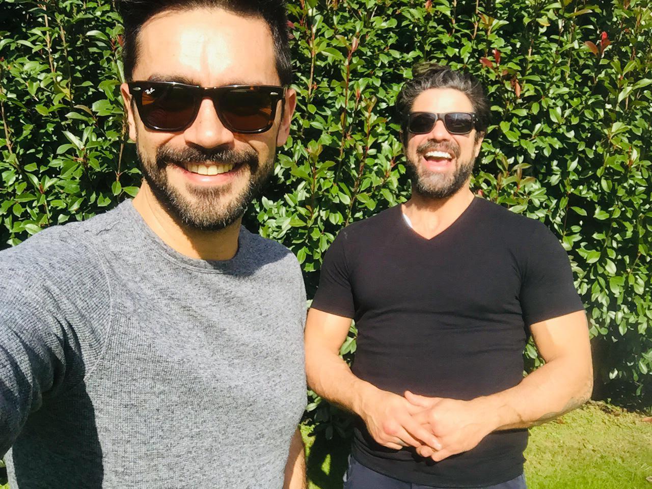 """Luciano Castro y Gonzalo Heredia: """"Desnudos"""" en la temporada"""