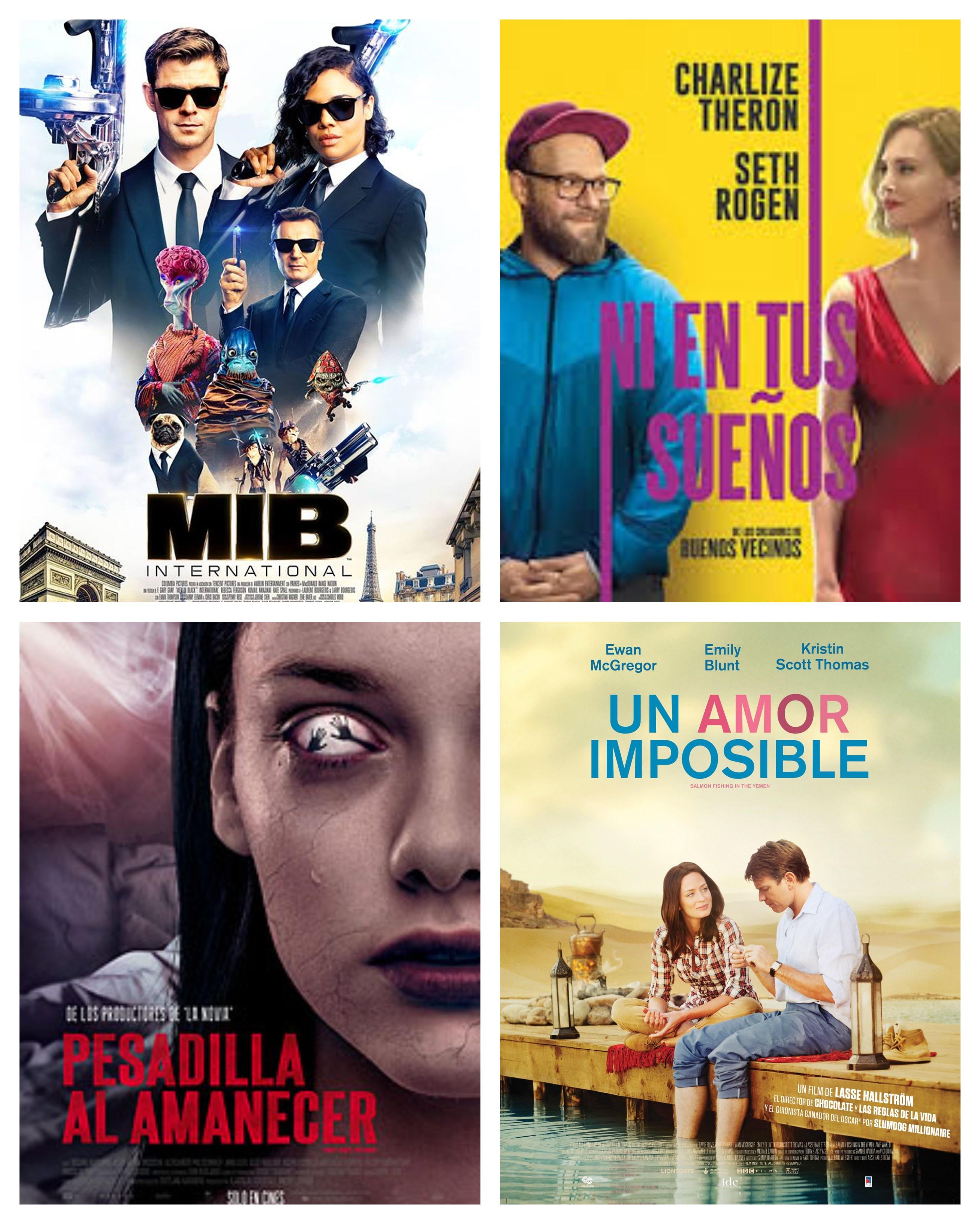 Estrenos de cine: aventura, terror y romance renuevan la pantalla