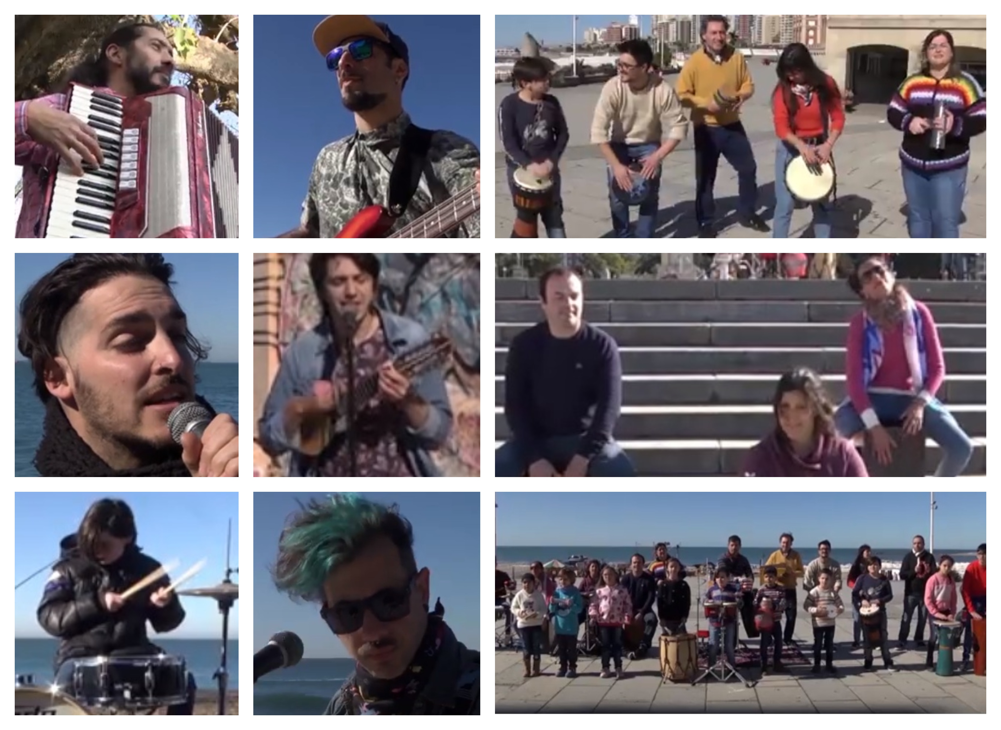 #MardelPlayingCalamaro: ¡Artistas locales homenajean al Salmón!