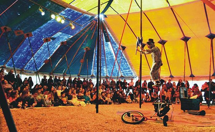 Últimas funciones del Circo La Audacia en vacaciones de invierno