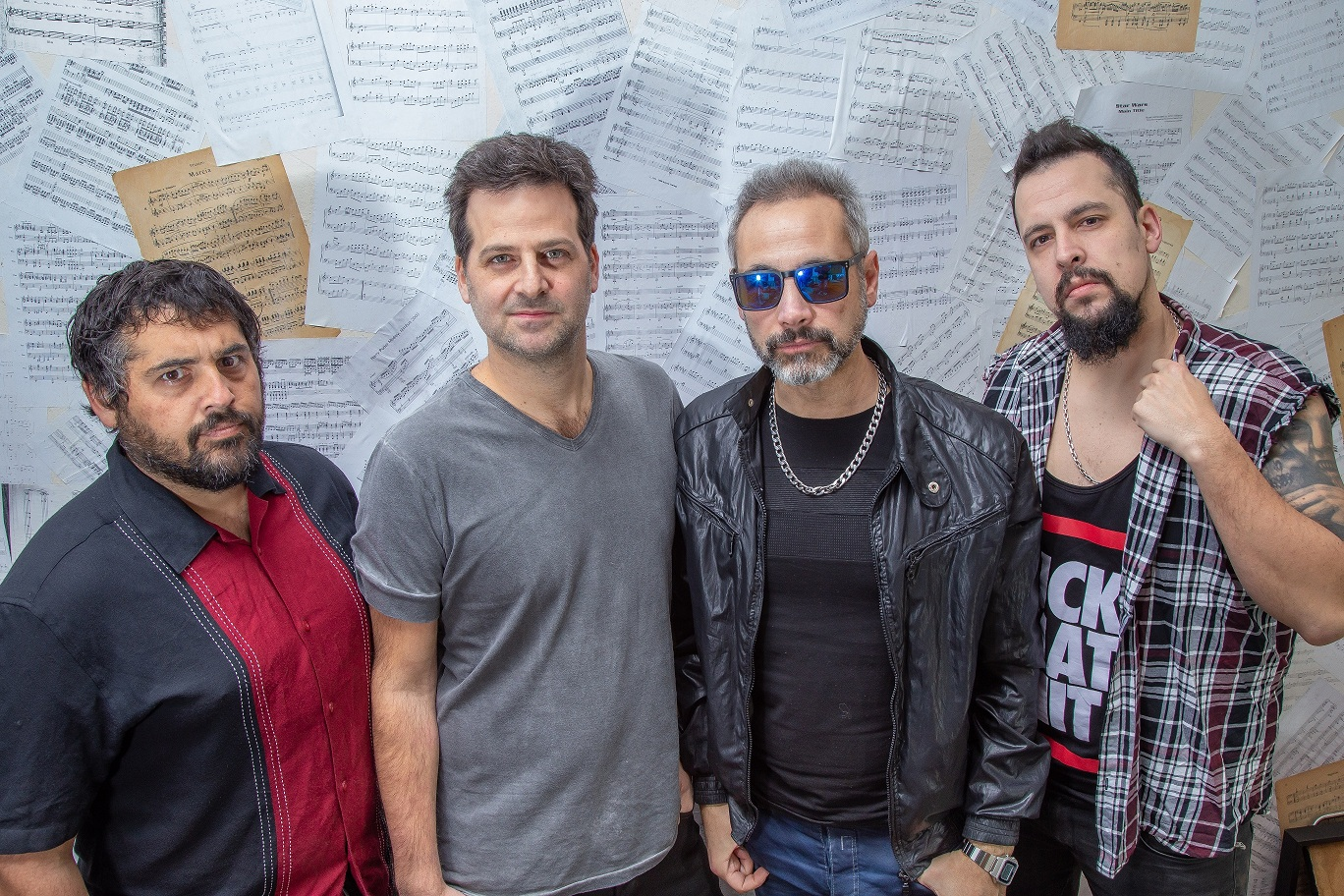 La banda Corderos grabará un show en 360 grados