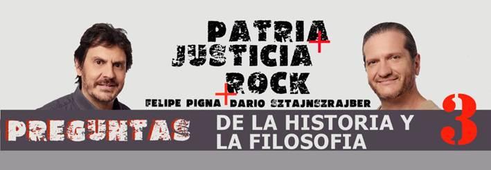 Historia y Filosofía con  Felipe Pigna y Darío Sztajnszrajber