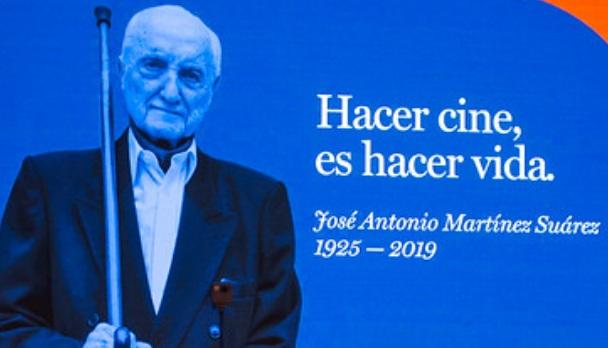 Homenaje a José Martínez Suárez en el 34º Festival Internacional de Cine de Mar del Plata