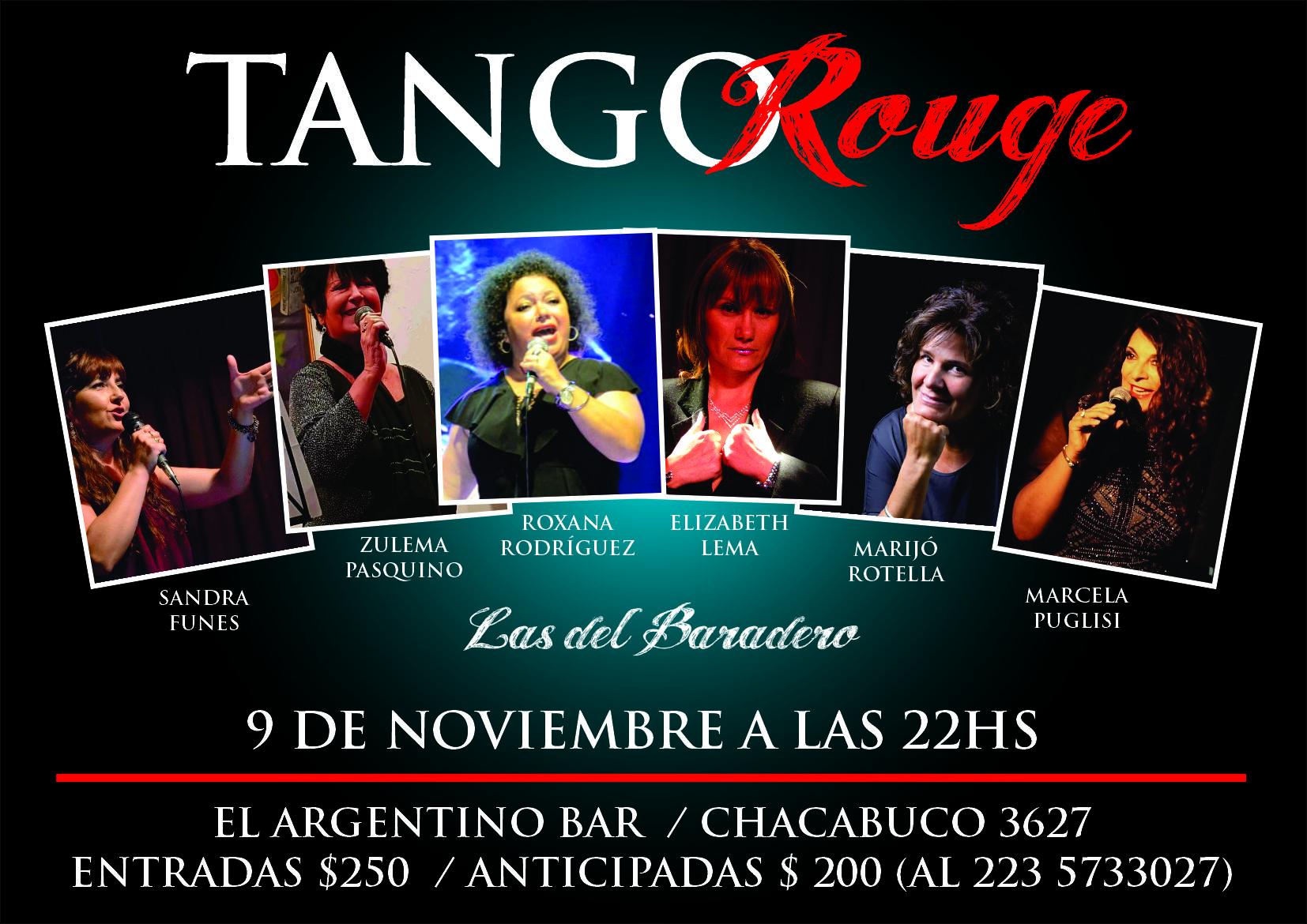 TangoRouge, del Festival de Baradero a Mar del Plata