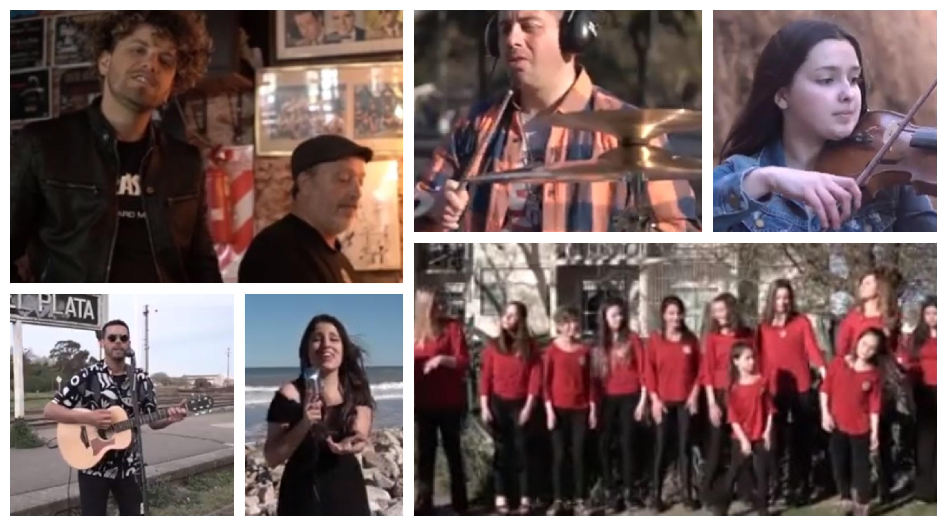Artistas locales se suman a #MardelPlayingCalamaro