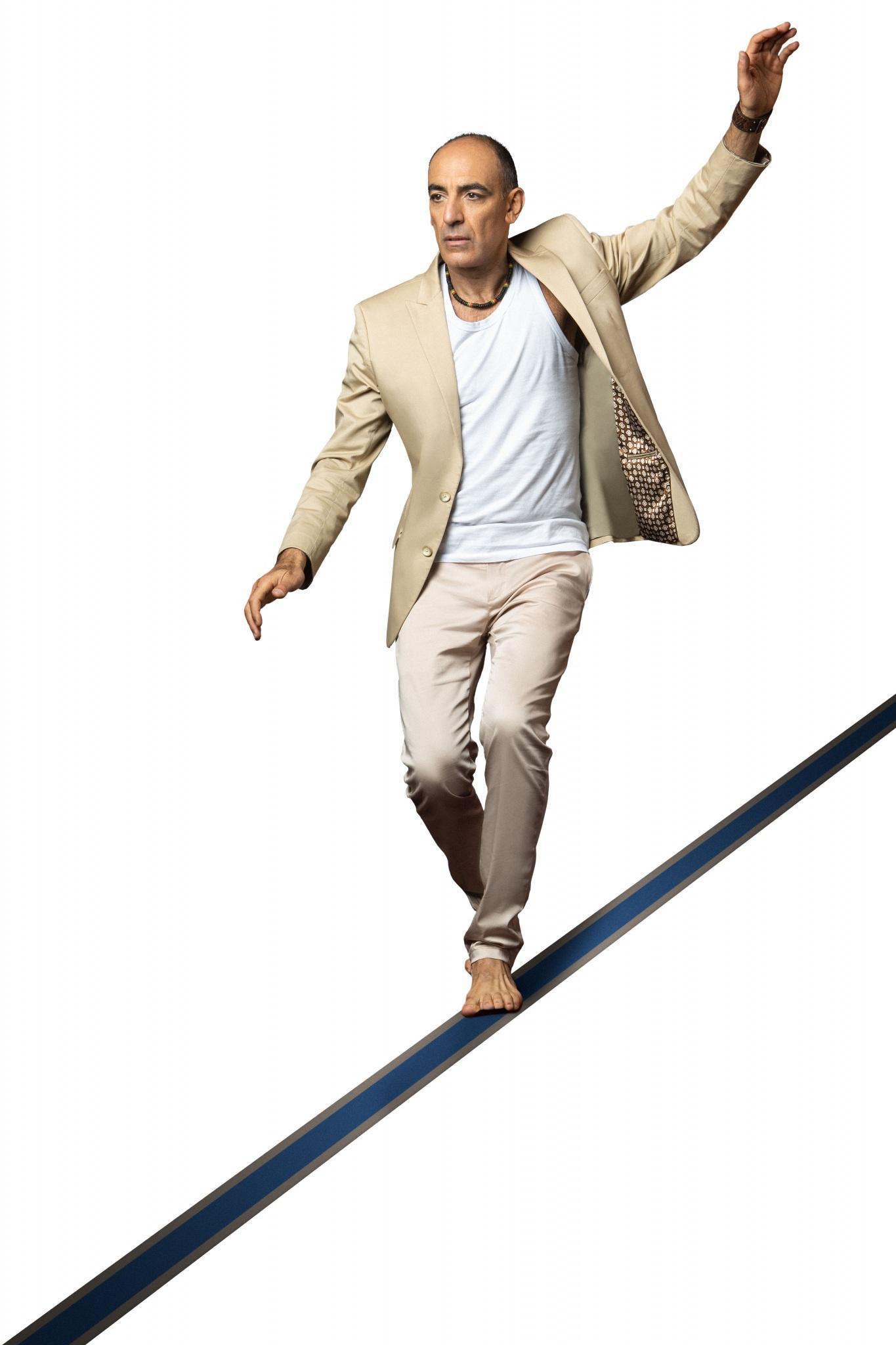 Mauricio Dayub: un equilibrista de la vida
