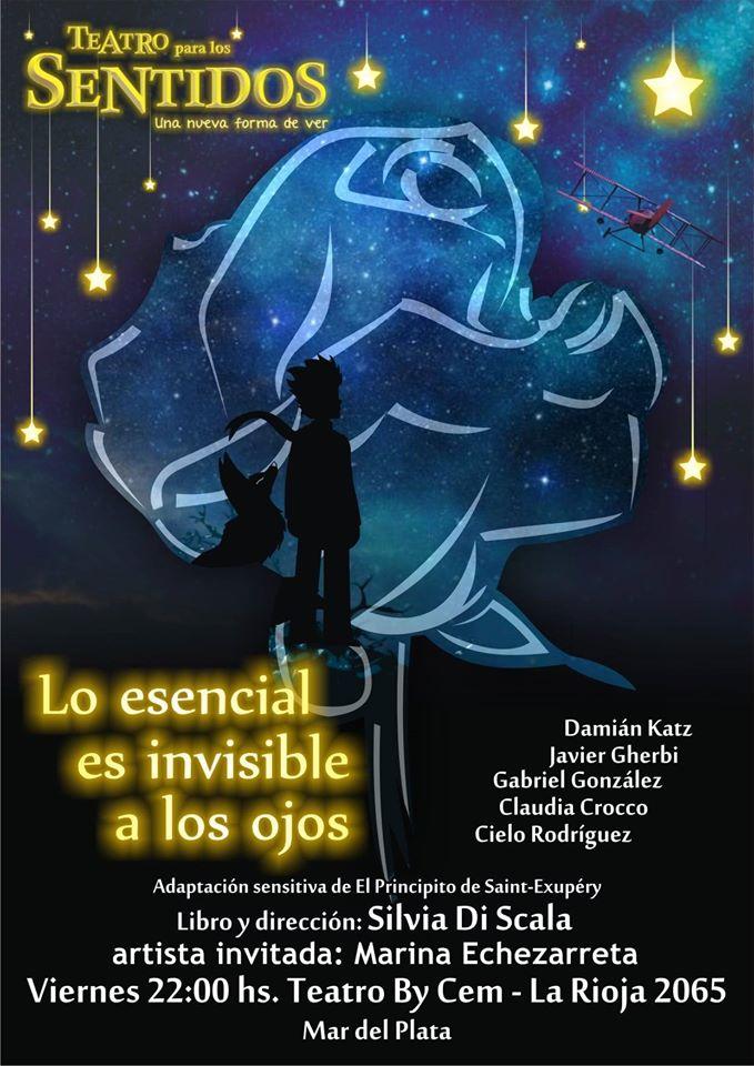 """""""Lo esencial es invisible a los ojos"""": adaptaciónsensitiva de El Principito"""