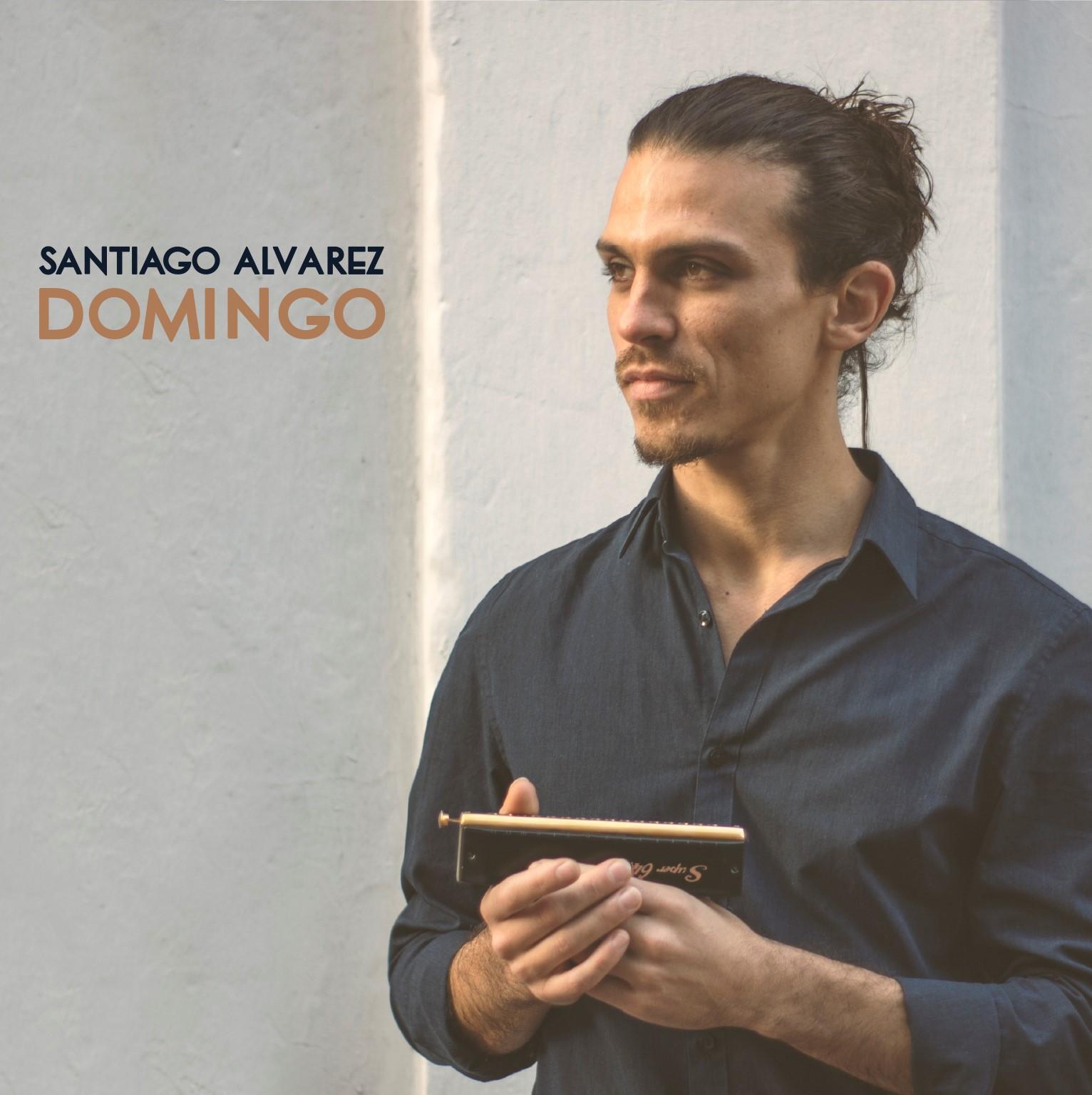 """El armonicista Santiago Alvarez presenta su disco debut """"Domingo"""""""