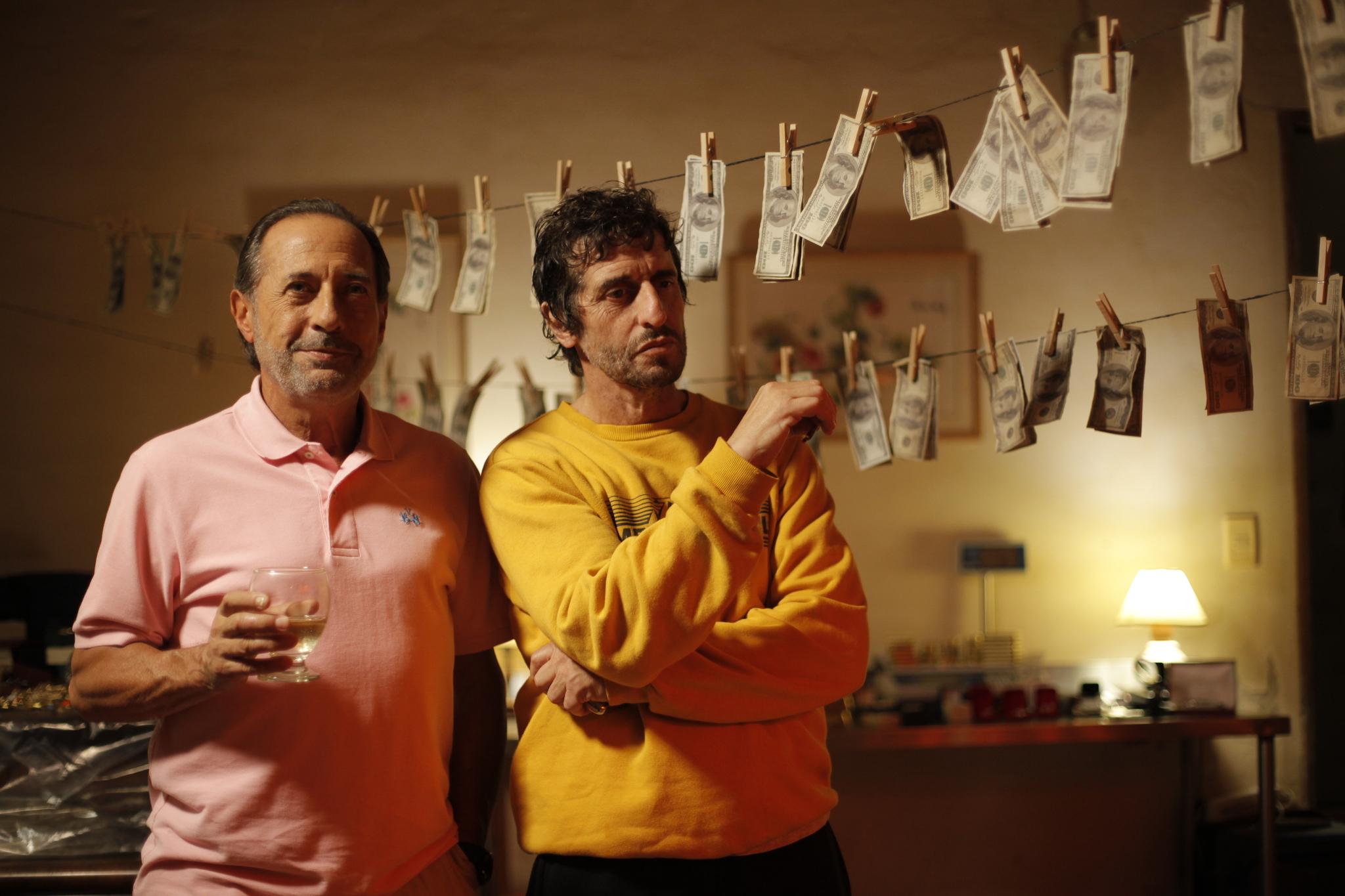"""Guillermo Francella y Diego Peretti en """"El Robo del Siglo"""""""