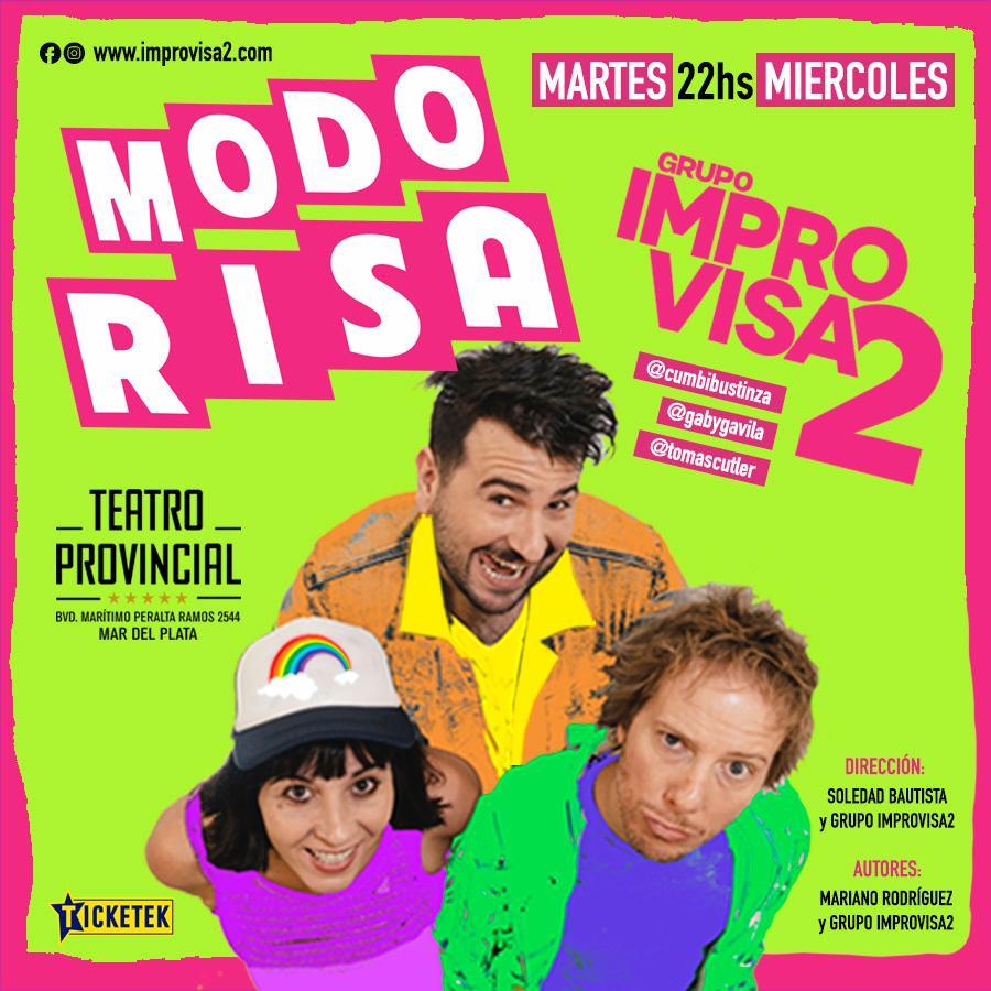 """Los Improvisa2 en """"Modo Risa"""""""