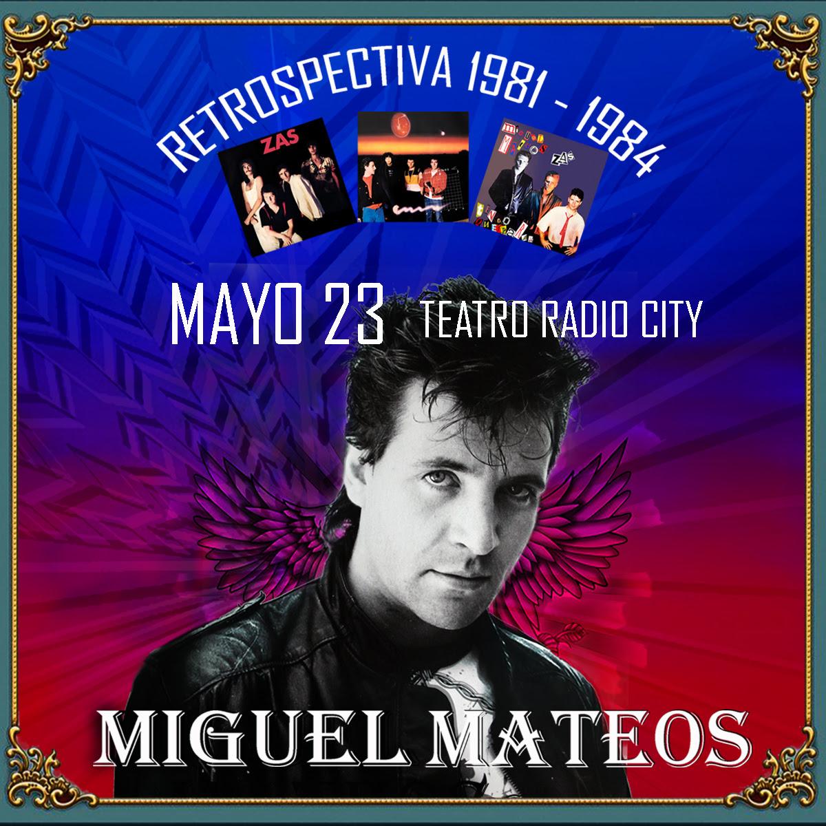 """Miguel Mateos vuelve con una """"Retrospectiva"""" musical"""
