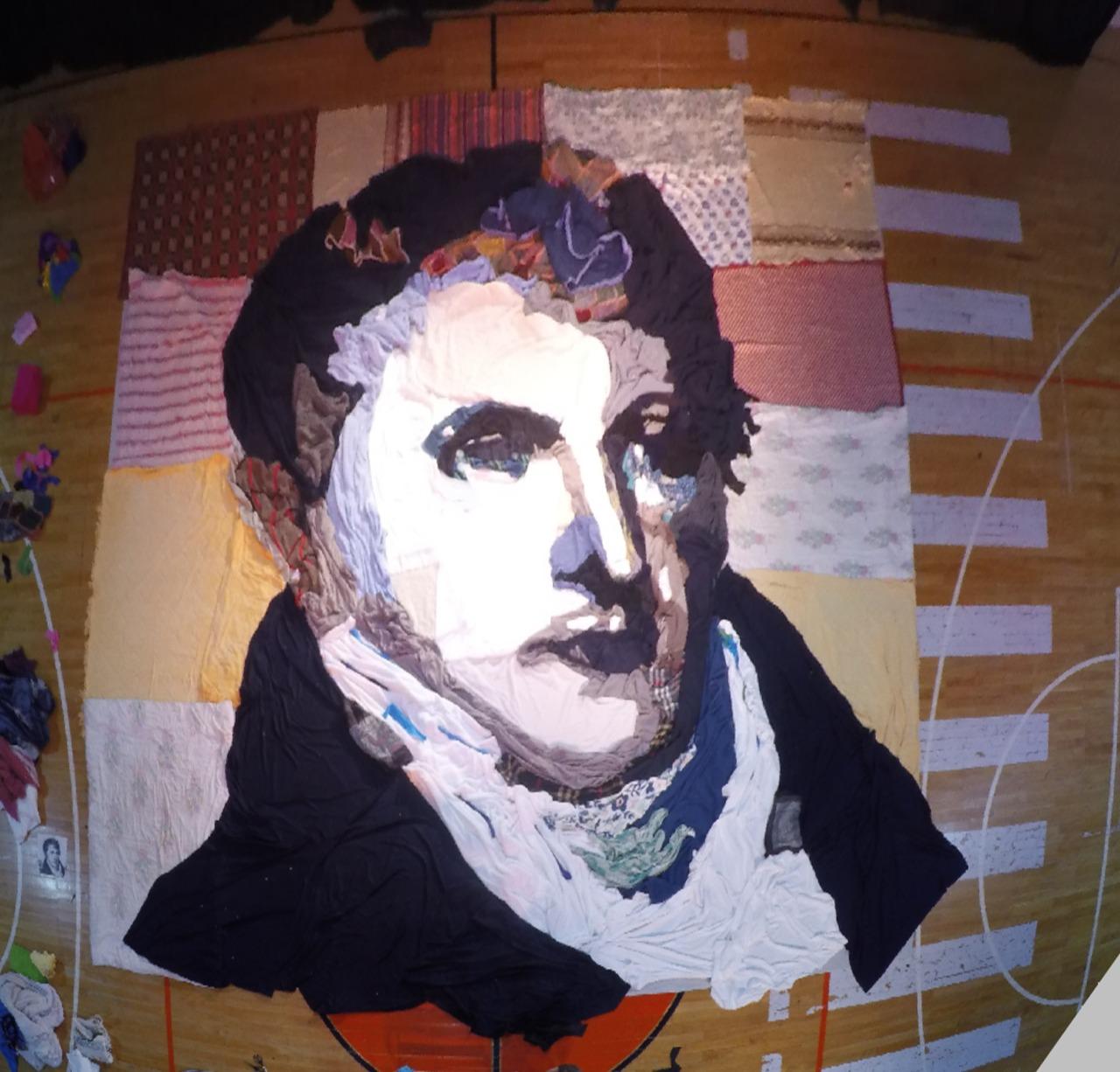 Un homenaje marplatense artístico a Belgrano