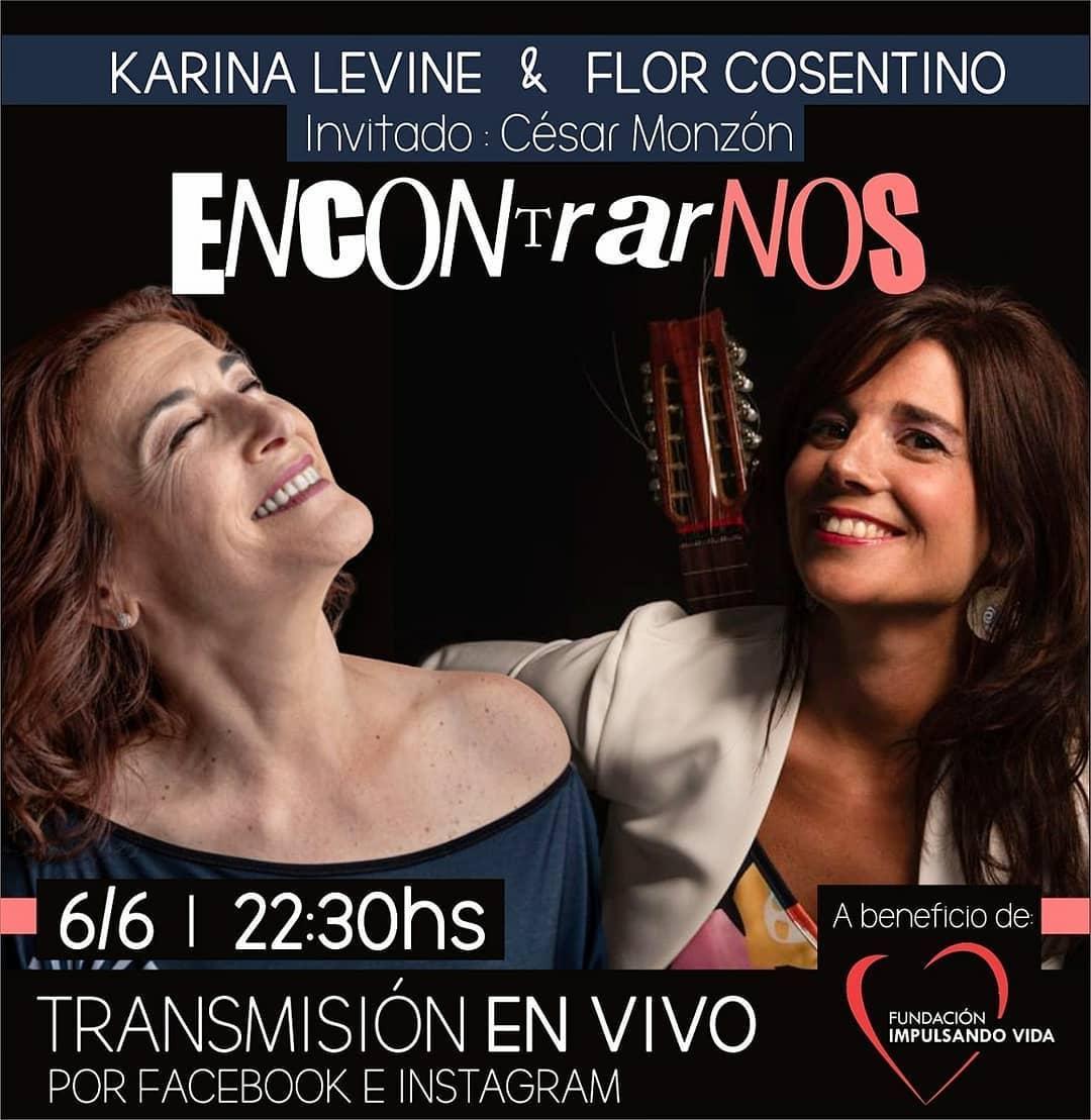 Karina Levine y Florencia Cosentino: un encuentro musical y solidario