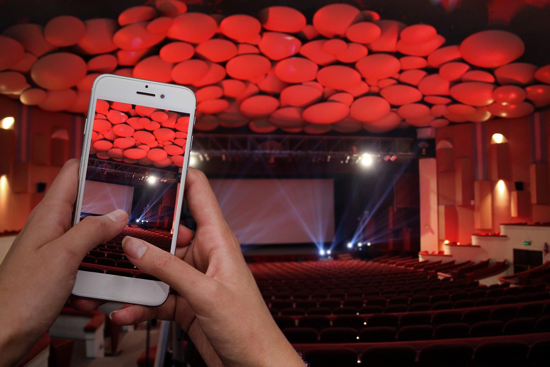 Contenidos culturales en redes del Teatro Auditorium