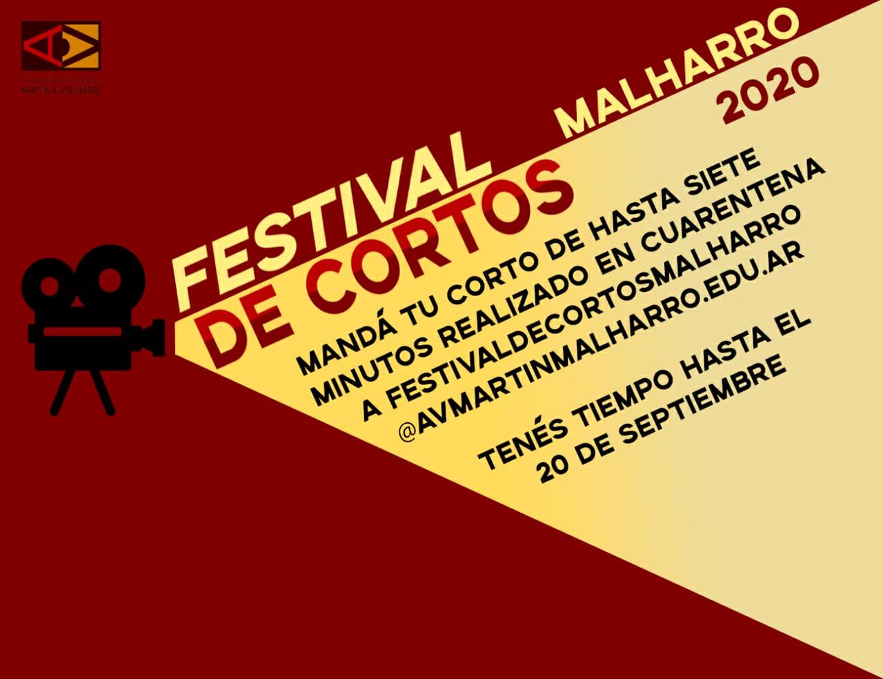 Convocatoria al Festival de cortos Malharro 2020
