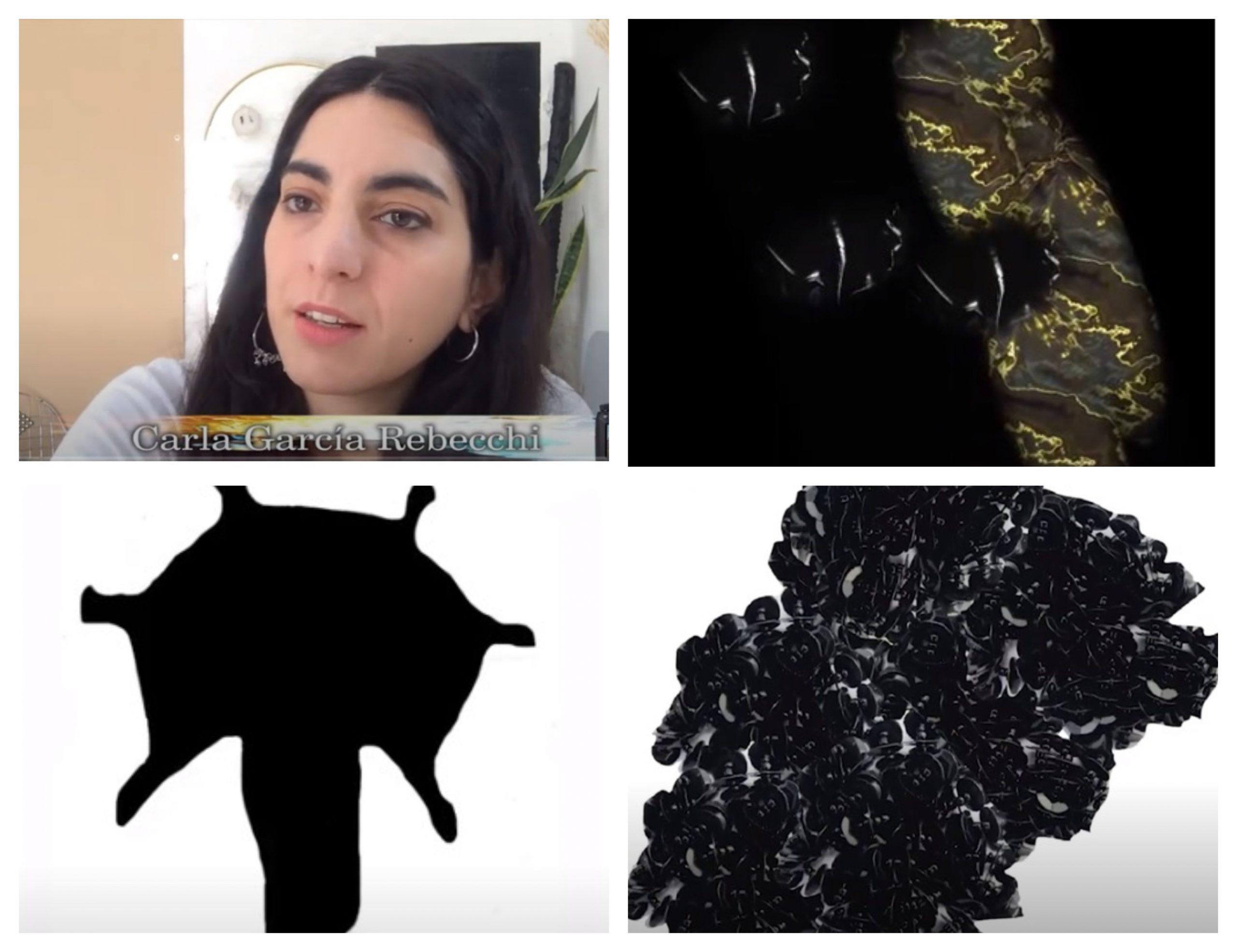 """Una """"mirada íntima"""" con la artista textil creativa Carla Rebecchi"""