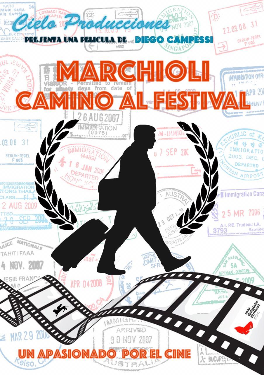 """""""Marchioli camino al Festival"""" competirá en un encuentro cinematográfico de Uruguay"""