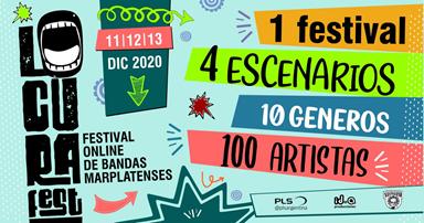 Lo Cura Fest 2020 : 1er Festival Multigénero de Mar del Plata