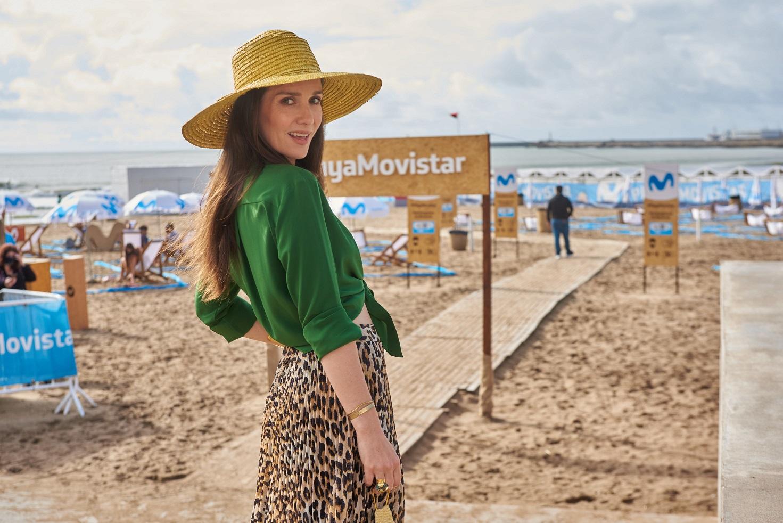 Natalia Oreiro en una visita sorpresa por Mar del Plata