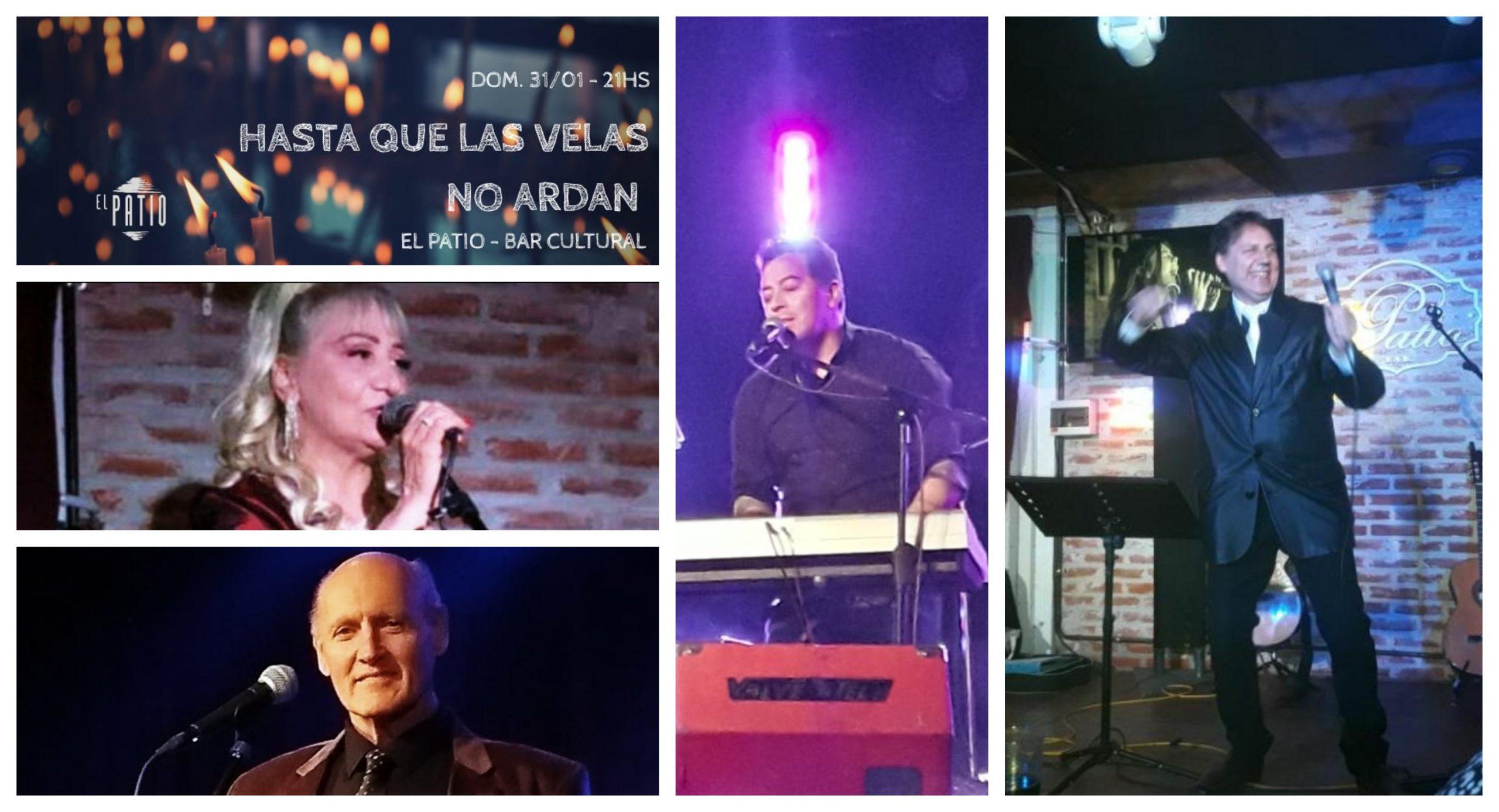 """Artistas marplatenses """"Hasta que las velas no ardan"""" en El Patio Cultural"""