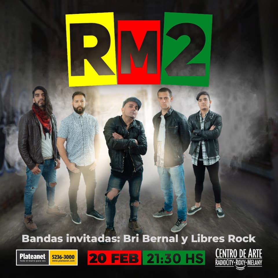 """RM2 : """"Esperábamos el momento de volver a tocar"""""""