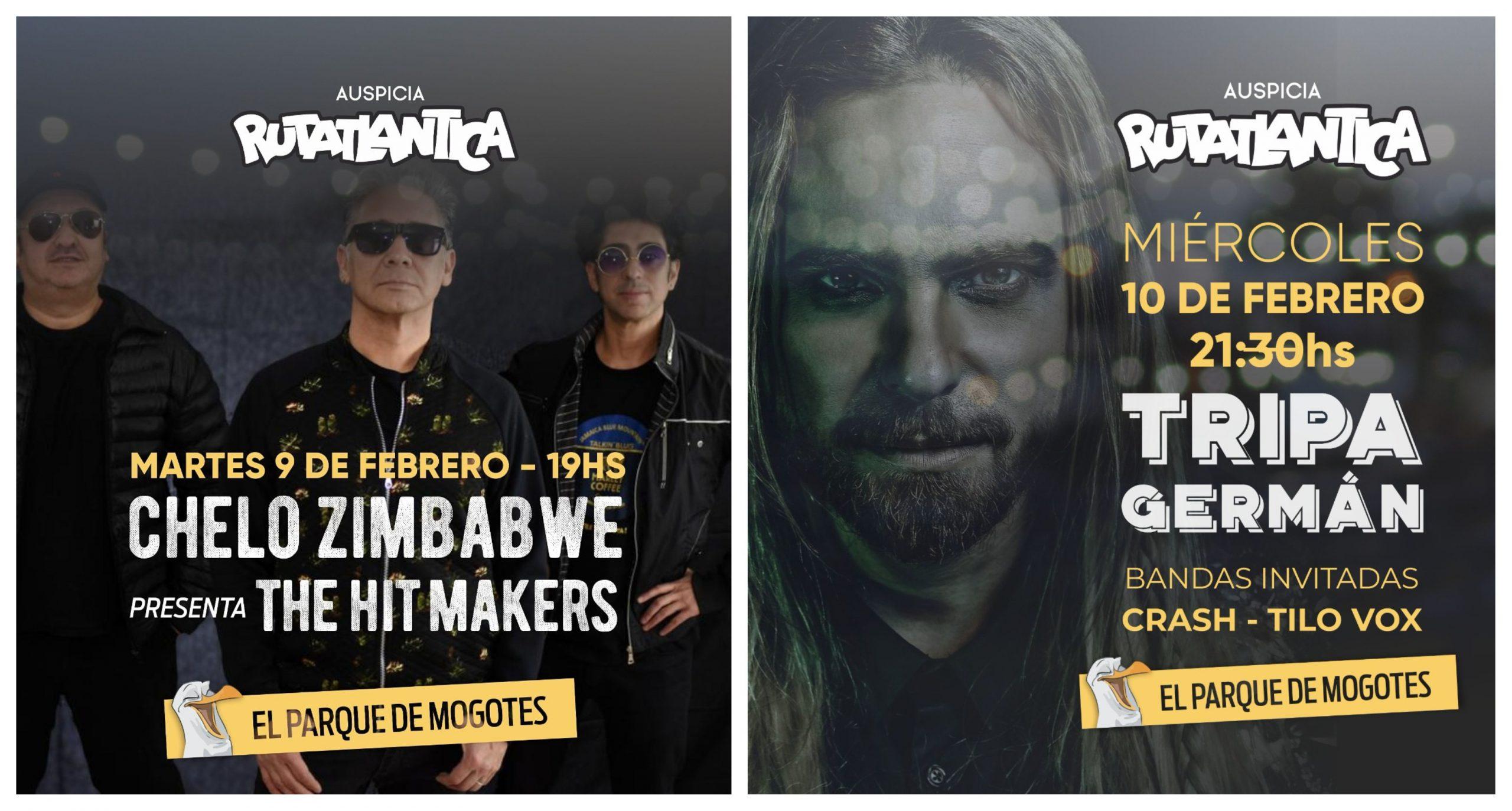 """El """"Chelo"""" y Germán """"Tripa"""" Tripel: reggae y rock en el Parque de Mogotes"""