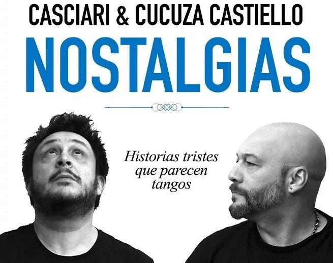 """Hernán Casciari & Cucuza Castiello llegan con """"Nostalgias, un recital de cuentos y música"""""""