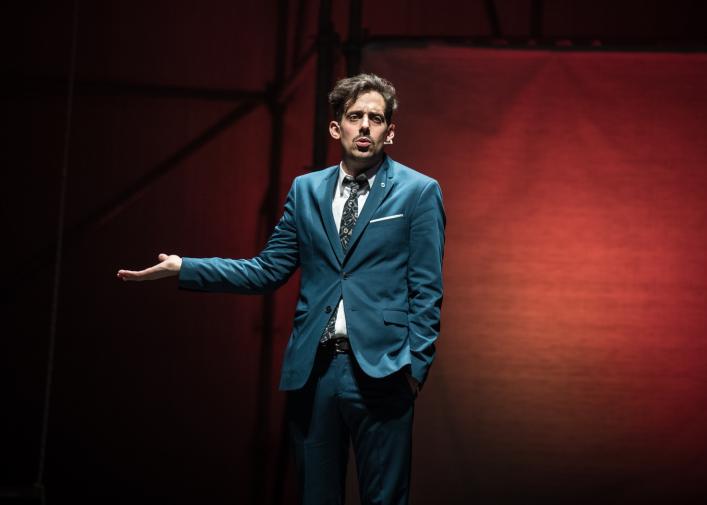 """Agustín """"Soy  Rada"""" Aristarán se despide de """"Serendipia"""" en teatro y estrena """"Radahouse"""" en televisión"""